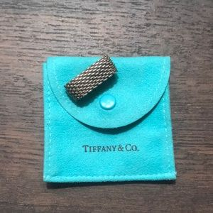 Tiffany & Co. Jewelry - AUTHENTIC Tiffany & Co. chain mesh ring